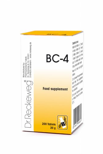 Schuessler BC4 combination cell salt - tissue salt